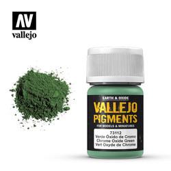 Chrome Oxid.Green Pigment - 35ml - Vallejo - VAL-73112