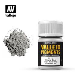 Light Slate Grey Pigment - 35ml - Vallejo - VAL-73113