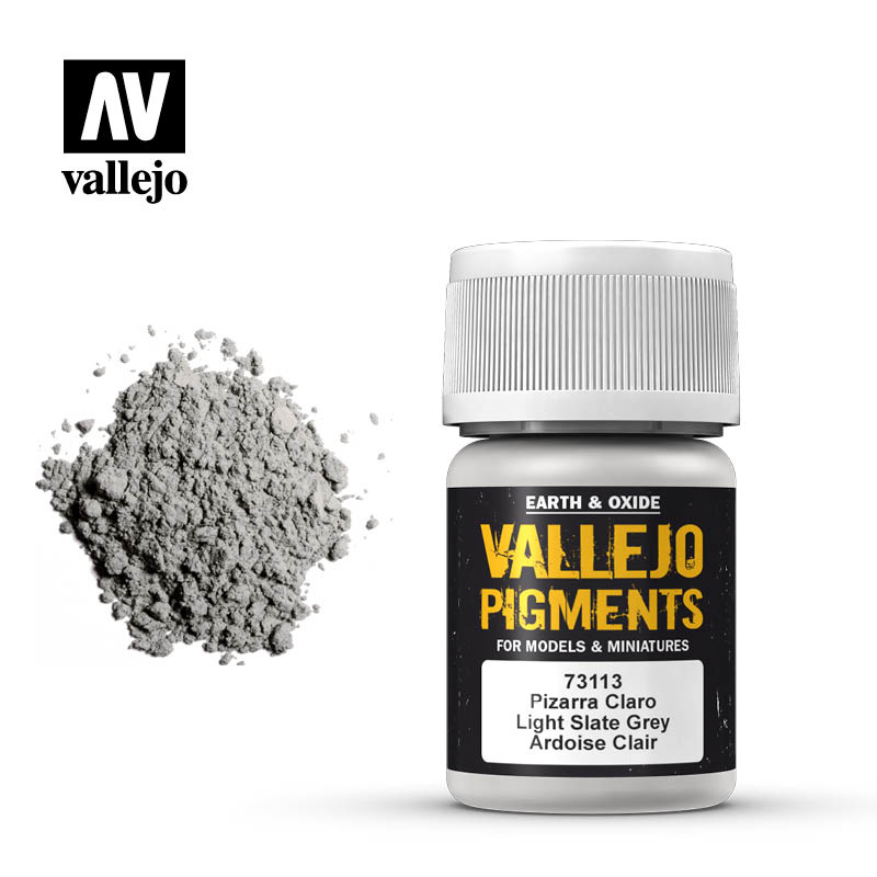 Vallejo Light Slate Grey Pigment - 35ml - Vallejo - VAL-73113