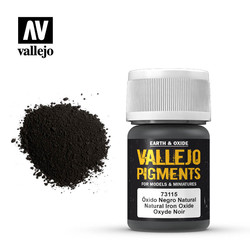 Natural Iron Oxid Pigment - 35ml - Vallejo - VAL-73115
