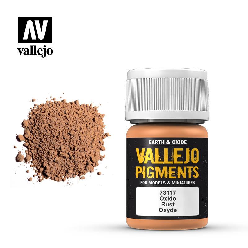 Vallejo Rust Pigment - 35ml - Vallejo - VAL-73117