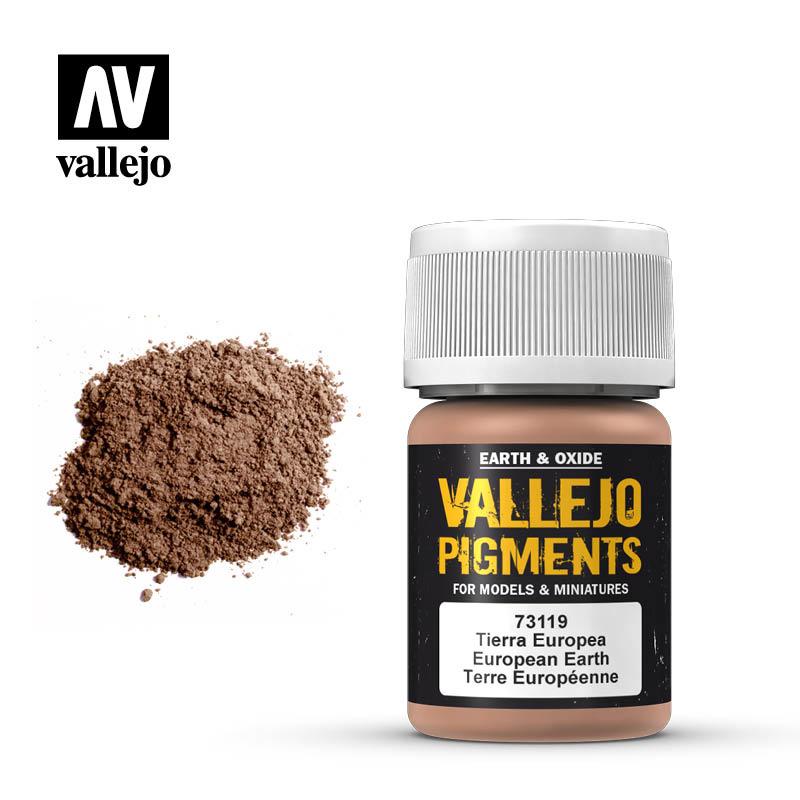 Vallejo European Earth Pigment - 35ml - Vallejo - VAL-73119