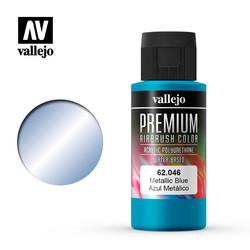 Premium Color Metallic Blue - 60ml - Vallejo - VAL-62046