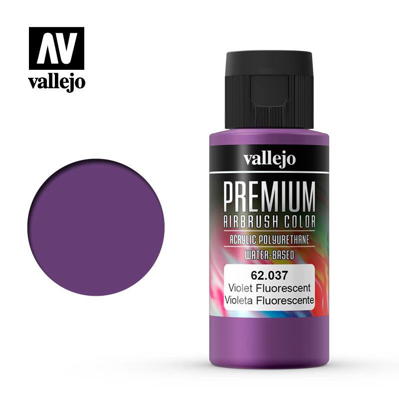 Vallejo Premium Color Violet Fluorescent - 60ml - Vallejo - VAL-62037