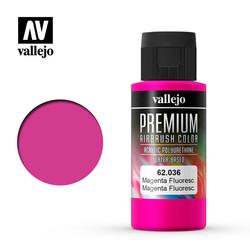 Premium Color Magenta Fluorescent - 60ml - Vallejo - VAL-62036