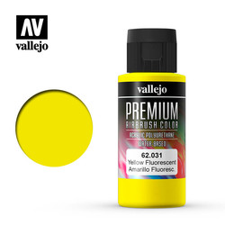 Premium Color Yellow Fluorescent - 60ml - Vallejo - VAL-62031