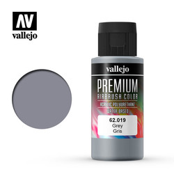 Premium Color Grey - 60ml - Vallejo - VAL-62019