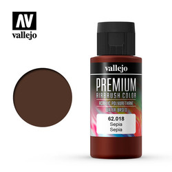 Premium Color Sepia - 60ml - Vallejo - VAL-62018