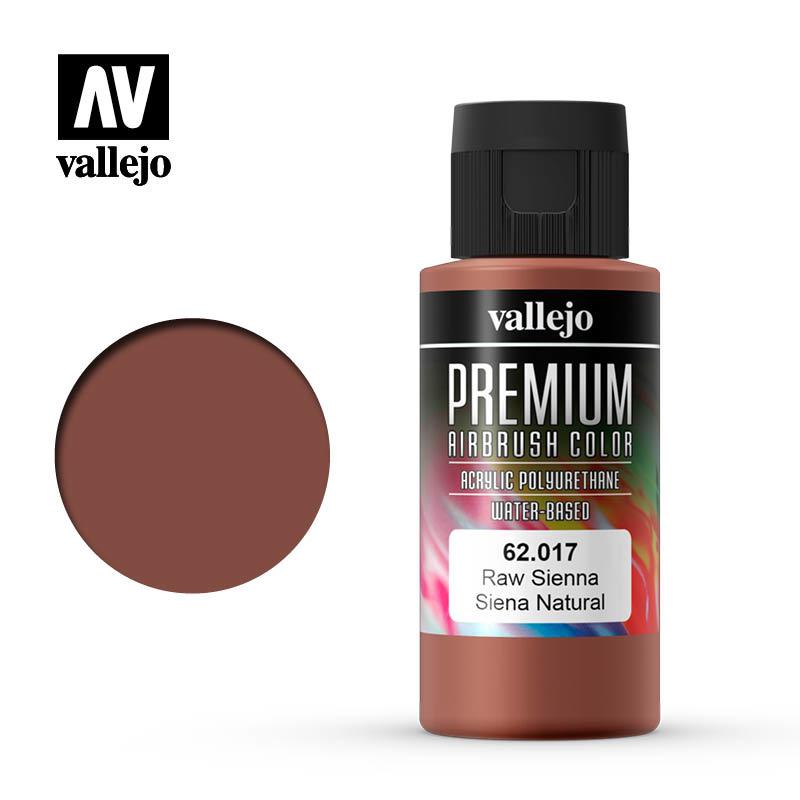 Vallejo Premium Color Raw Sienna - 60ml - Vallejo - VAL-62017