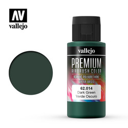 Premium Color Dark Green - 60ml - Vallejo - VAL-62014