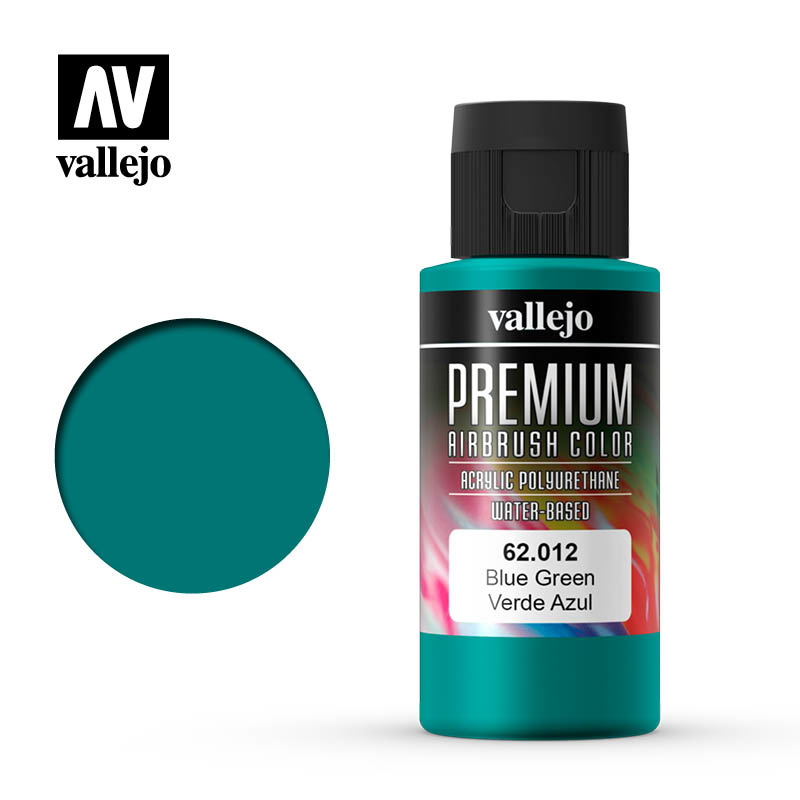Vallejo Premium Color Blue Green - 60ml - Vallejo - VAL-62012