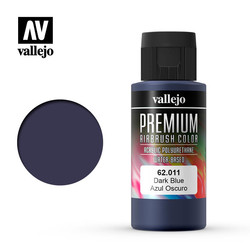 Premium Color Dark Blue - 60ml - Vallejo - VAL-62011