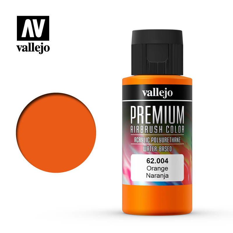 Vallejo Premium Color Orange - 60ml - Vallejo - VAL-62004