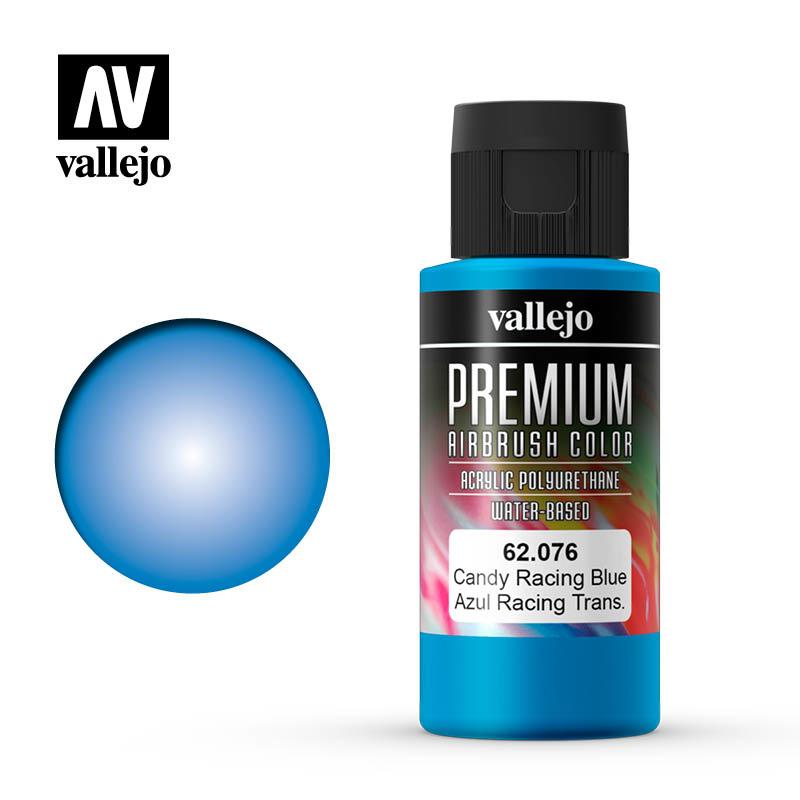 Vallejo Premium Color Candy Racing Blue - 60ml - Vallejo - VAL-62076