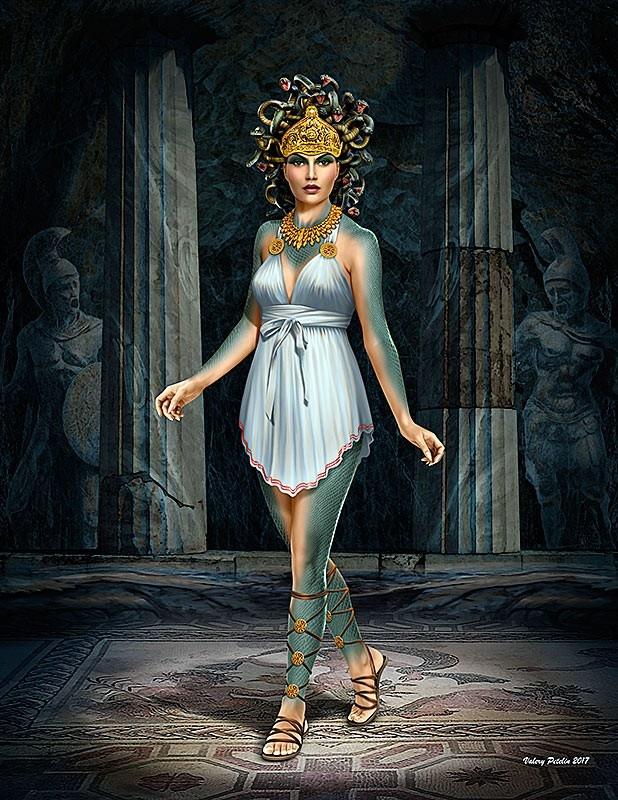 "Masterbox ""Ancient Greek Myths Series. Medusa""  - Masterbox - MBLTD24025"