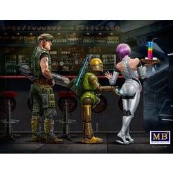 """The first meeting. Wow, I like it!"" - Masterbox - MBLTD24031"