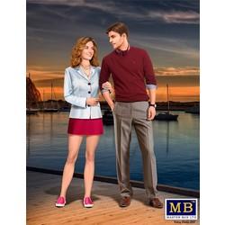 """Bob and Sally - The Happy Couple"" - Masterbox - MBLTD24029"