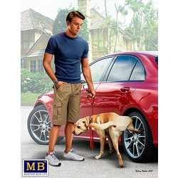 """Bart and Radley (dog). What he really thinks of your car.""  - Masterbox - MBLTD24049"