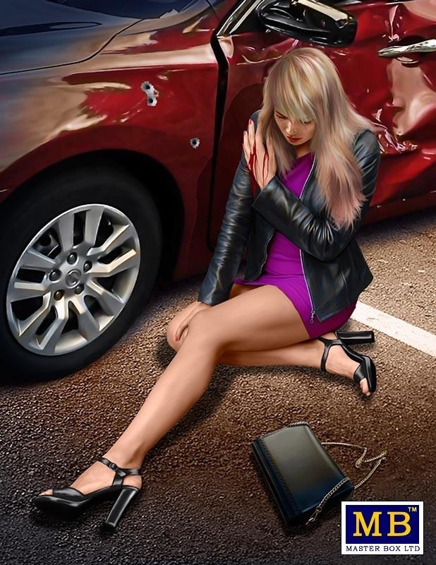 "Masterbox ""The Heist series, Kit №3: Caught in the cross-fire. Sarah Woods"" - Masterbox - MBLTD24066"