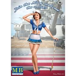 """""""Pin-up series, Kit No. 4. Suzie"""" - Masterbox - MBLTD24004"""