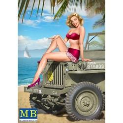 """""""Pin-up series, Kit No. 6. Samantha"""" - Masterbox - MBLTD24006"""