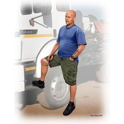 """""""Truckers series. Jimmy (Tex) Haywood"""" - Masterbox - MBLTD24043"""