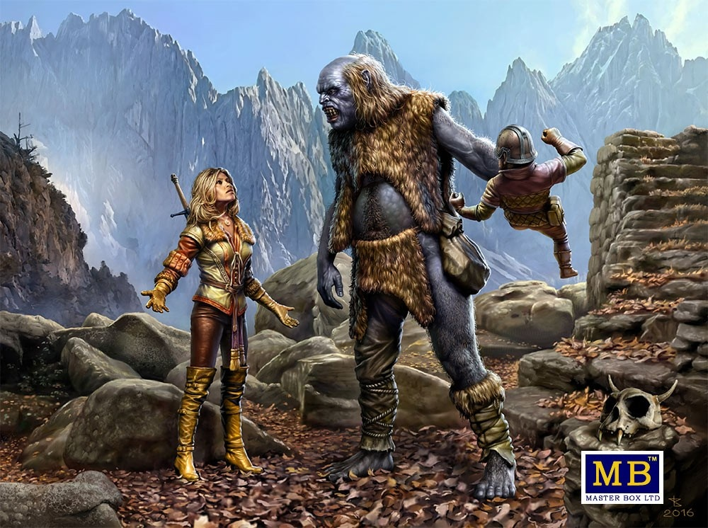 "Masterbox ""World of Fantasy. This is my land!"" - Masterbox - MBLTD24011"