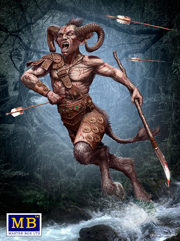 "Masterbox ""Ancient Greek Myths Series. Satyr""  - Masterbox - MBLTD24024"