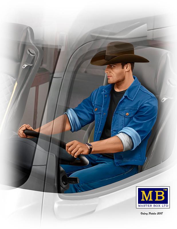 "Masterbox ""Truckers series. Mike (Beach Boy) Barrington"" - Masterbox - MBLTD24044"