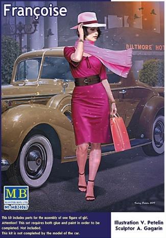 "Masterbox ""Dangerous Curves Series. Françoise"" - Masterbox - MBLTD24067"