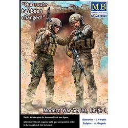 """Modern War Series, kit No. 1. """"Our route has been changed!"""" - Masterbox - MBLTD24068"""