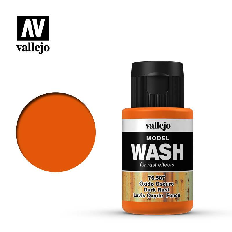 Vallejo Model Wash Dark Rust - 35ml - Vallejo - VAL-76507