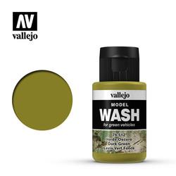Model Wash Dark Green - 35ml - Vallejo - VAL-76512