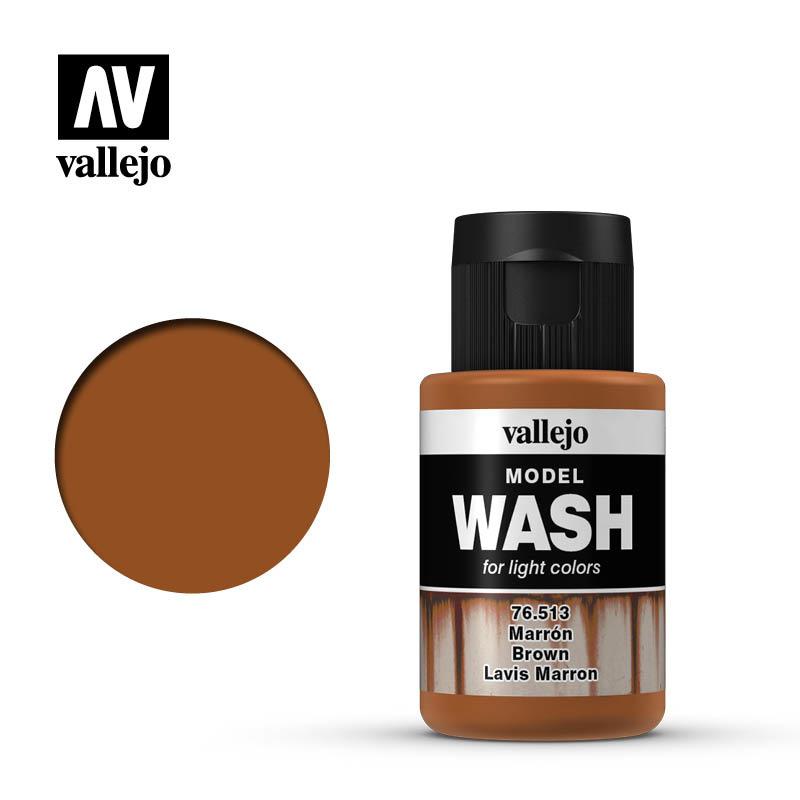 Vallejo Model Wash Brown - 35ml - Vallejo - VAL-76513