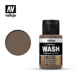 Model Wash Oiled Earth - 35ml - Vallejo - VAL-76521