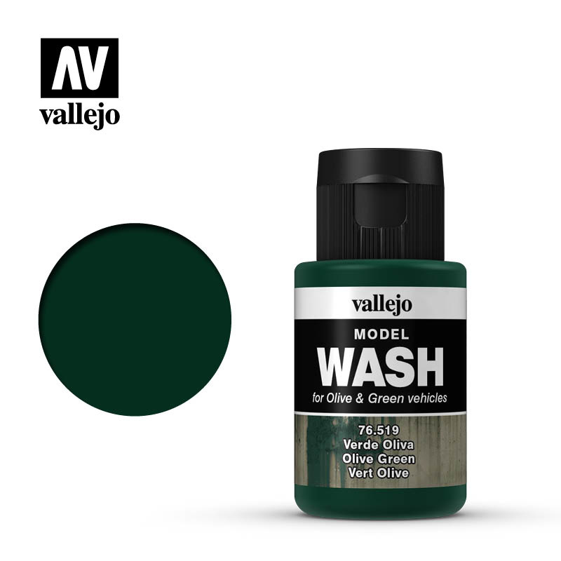 Vallejo Model Wash Olive Green - 35ml - Vallejo - VAL-76519