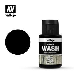 Model Wash Black - 35ml - Vallejo - VAL-76518