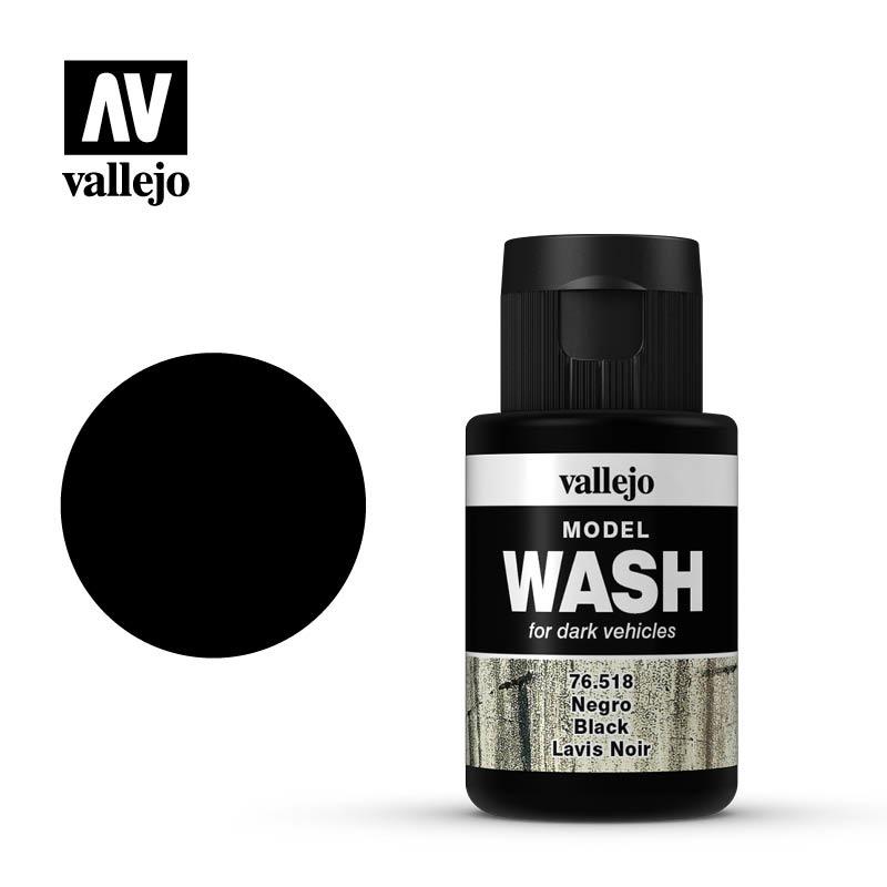 Vallejo Model Wash Black - 35ml - Vallejo - VAL-76518