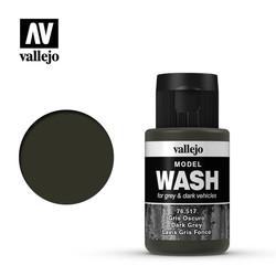 Model Wash Dark Grey - 35ml - Vallejo - VAL-76517