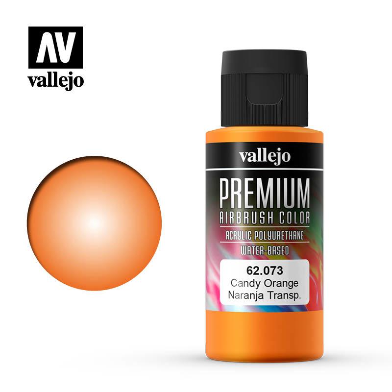 Vallejo Premium Color Candy Orange - 60ml - Vallejo - VAL-62073