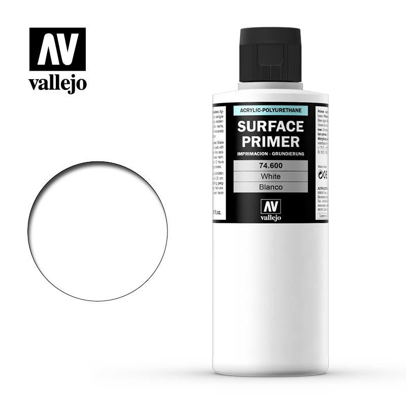 Vallejo Primer White - 200ml - Vallejo - VAL-74600