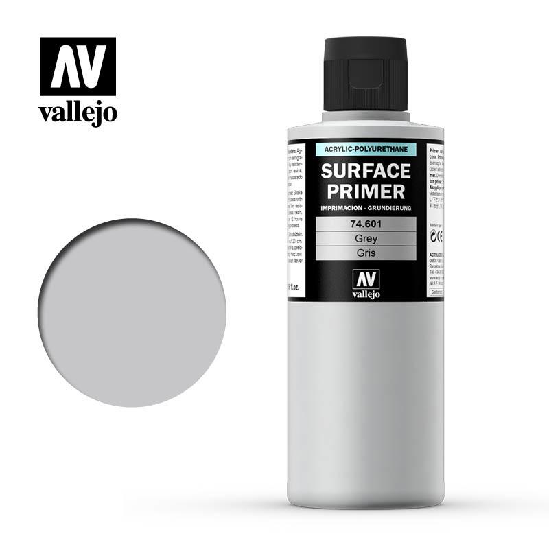 Vallejo Primer Grey - 200ml - Vallejo - VAL-74601