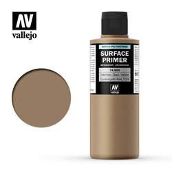 Primer German Dark Yellow - 200ml - Vallejo - VAL-74604