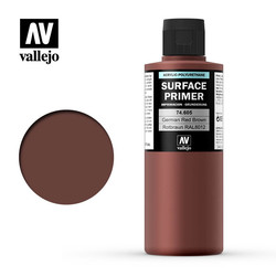 Primer German Red Brown - 200ml - Vallejo - VAL-74605