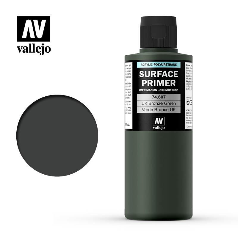 Vallejo Primer Uk Bronze Green - 200ml - Vallejo - VAL-74607