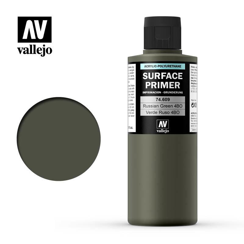 Vallejo Primer Russian Green 4Bo - 200ml - Vallejo - VAL-74609