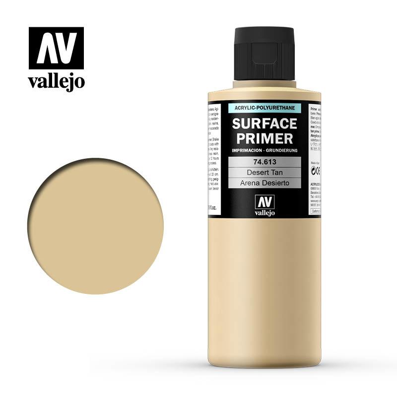Vallejo Primer Desert Tan - 200ml - Vallejo - VAL-74613