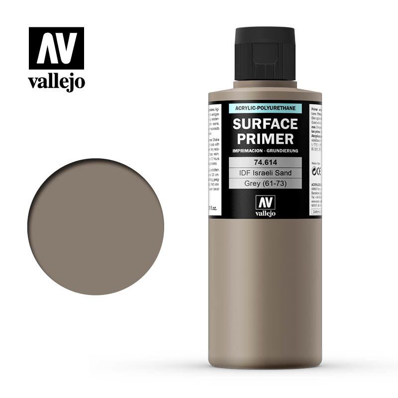 Vallejo Primer IDF Israeli Sand Grey (61-73) - 200ml - Vallejo - VAL-74614