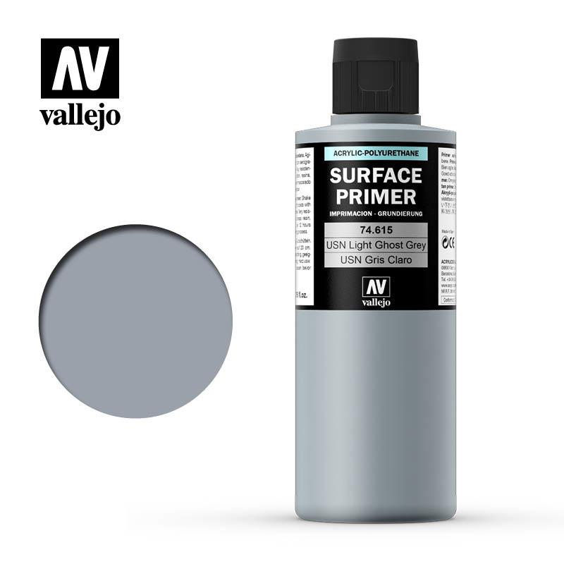 Vallejo Primer USN Light Ghost Grey - 200ml - Vallejo - VAL-74615