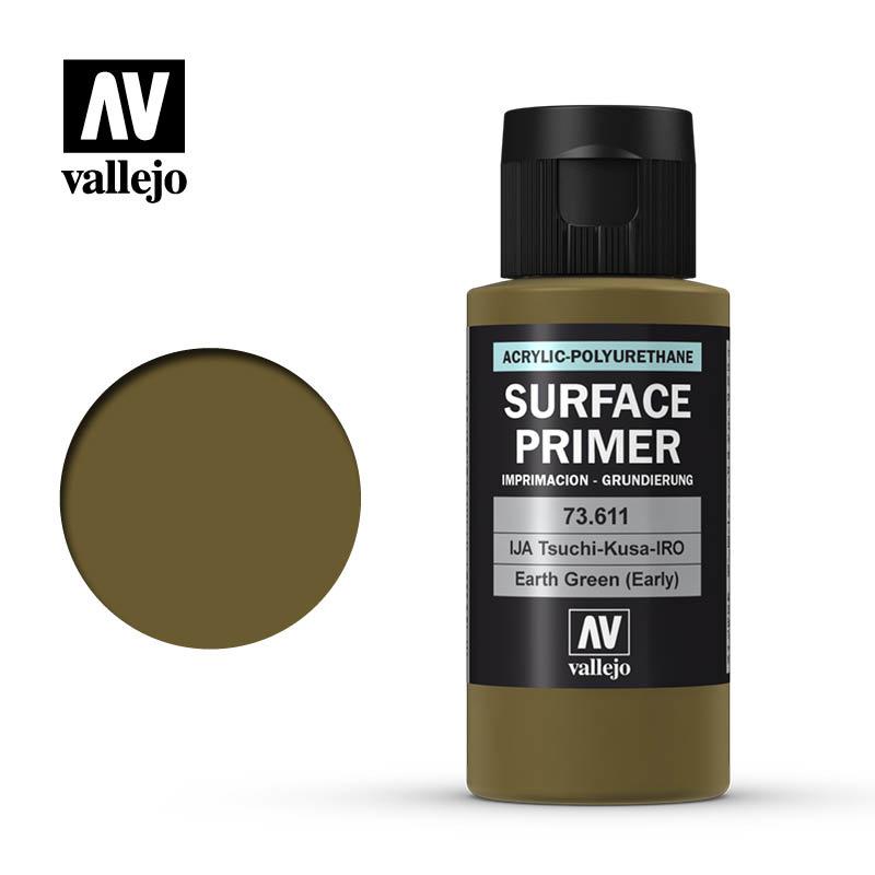 Vallejo Primer Earth Green (Early) - 60ml - Vallejo - VAL-73611